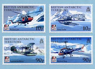 British Antarctic Territory 2009 - 100 Year of Naval Aviation