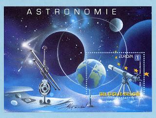 Belgium Europa 2009 - Astronomy