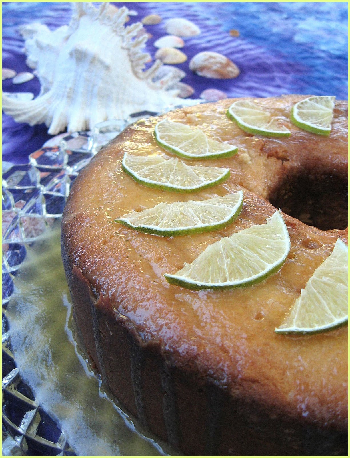 Foodalution: Tart and Tangy Key Lime Pound Cake