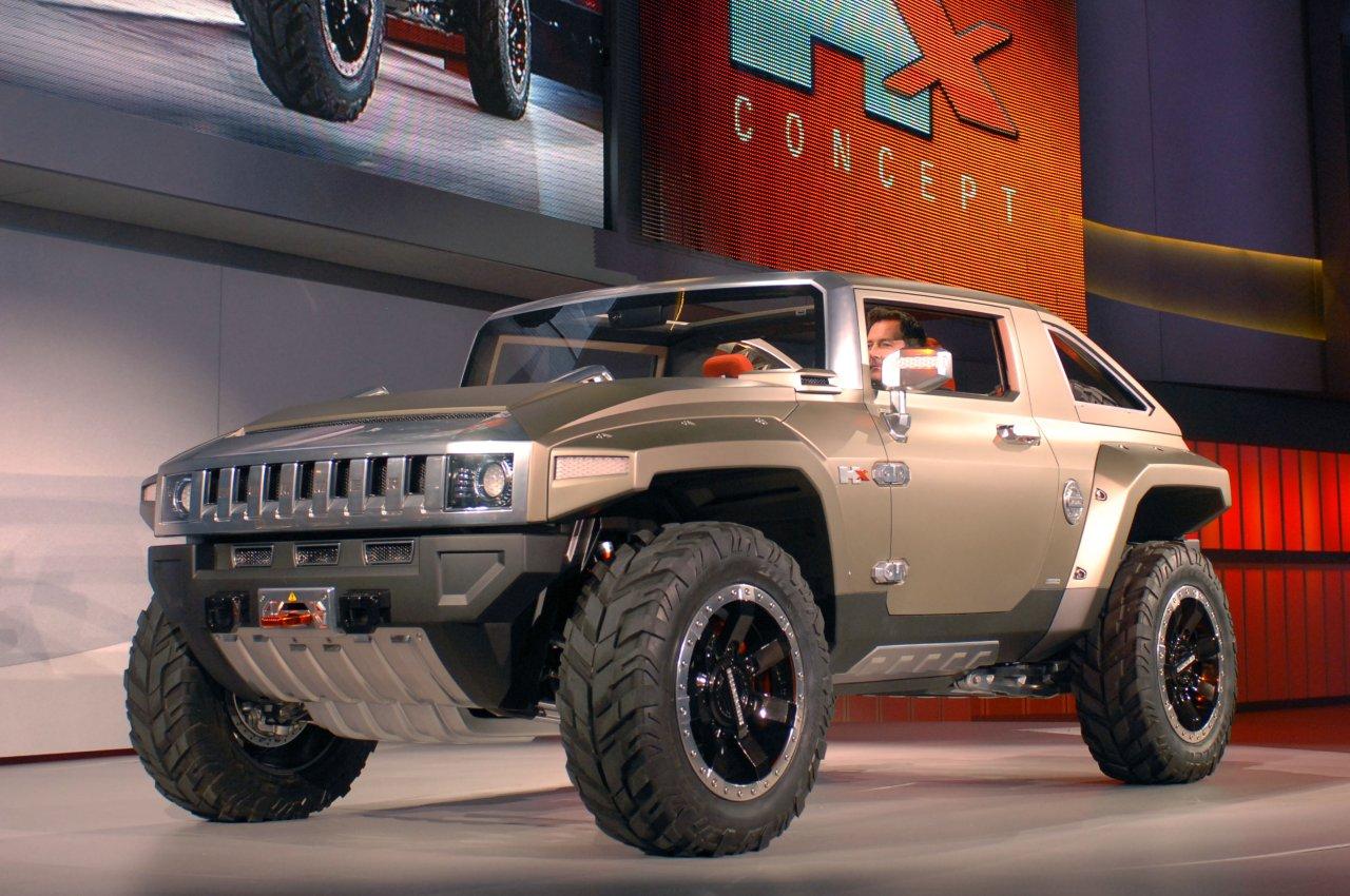 Hummer HX concept car was
