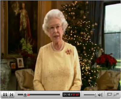 Click to view the Queen's Christmas Broadcast, 2007
