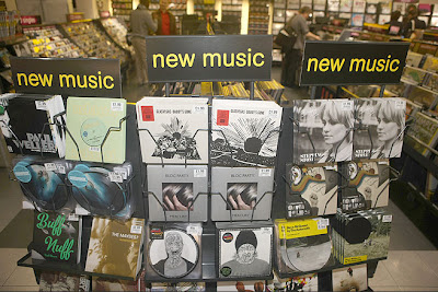 A selection of new music on vinyl at HMV.