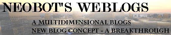 Neobot's Weblogs