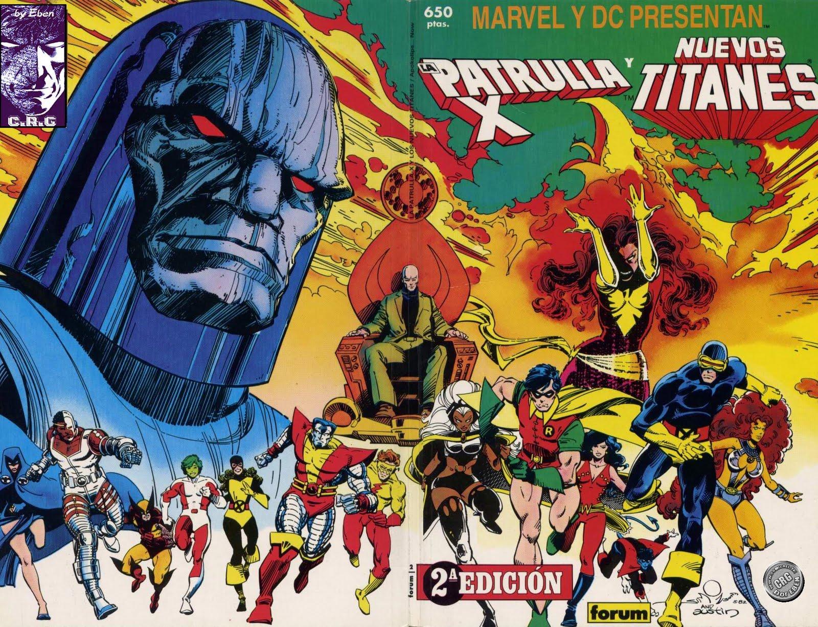 La Men Y Las Jovenes Titanes Dc Marvel El Ic