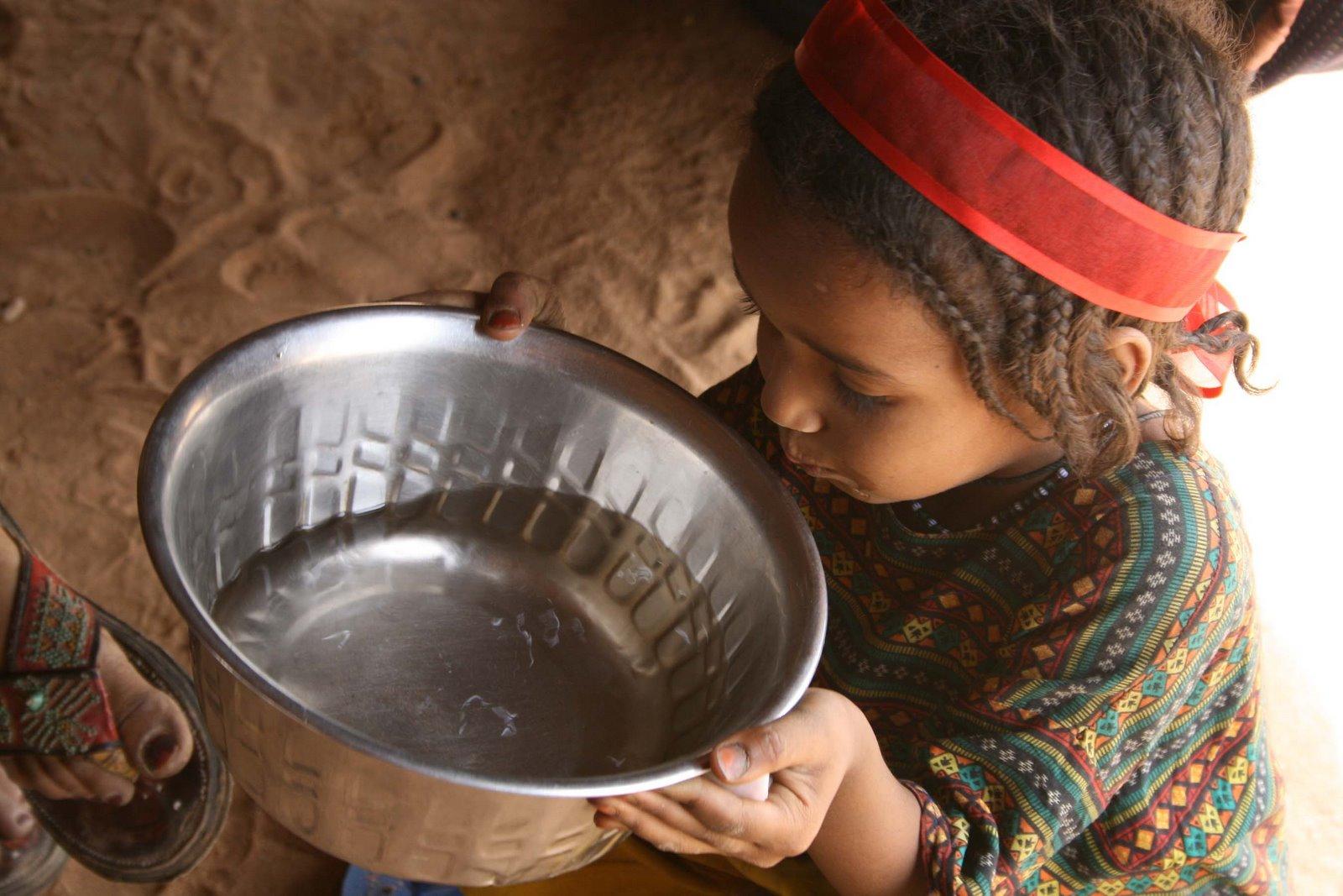 Mariama Drinking  Tangarwachane Water Ed