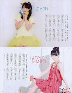 Sayumi haciendo publicidad en una revista Sayu2
