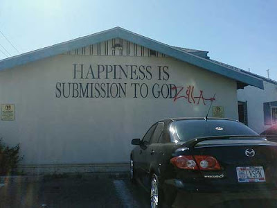 Happiness Is Submission To God