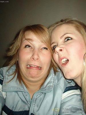 Idiotic faces