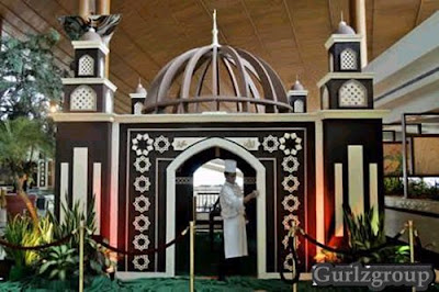 Mosque (Masjid) Made of Chocolate