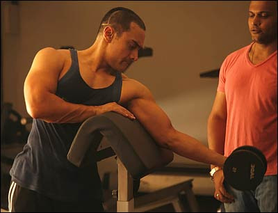 Aamir khan workout