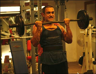 Efforts behind the Ghajini look