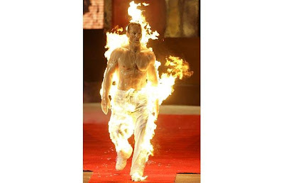 fire stuntman