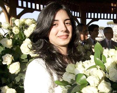Slain Former Lebanese premier Rafiq Hariri's younger daughter, HindHind Hariri