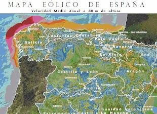 ATLAS EÓLICO DE ESPAÑA