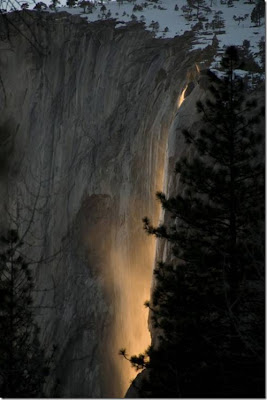 加州 火瀑布 - 美國 加州 火瀑布