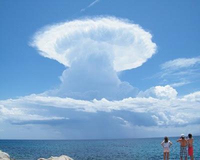 飛碟雲 UFO - 酷似飛碟的雲 UFO