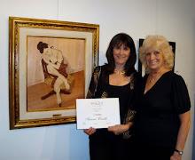 """Premio al Dibujo a la Obra """"BUSCANDO MI INTERIOR"""" - 2009"""