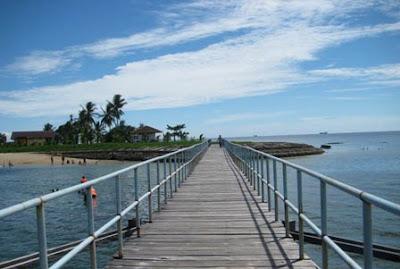 [PIC+] Pesona Pulau Beras Basah Bontang. Dermaga-beras-basah
