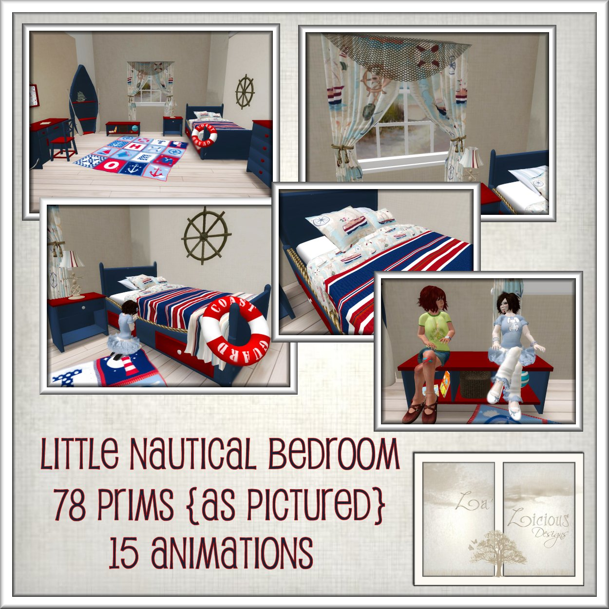 La'Licious Designs: *NEW* Little Nautical Bedroom!