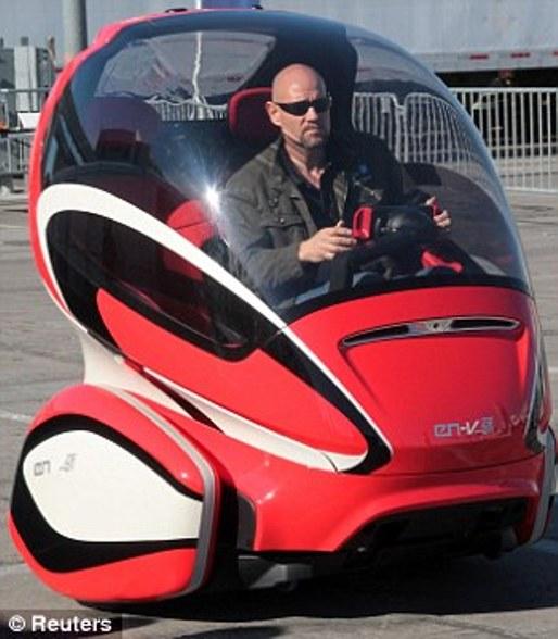 Mobil masa depan yang dapat dioperasikan tanpa sopir