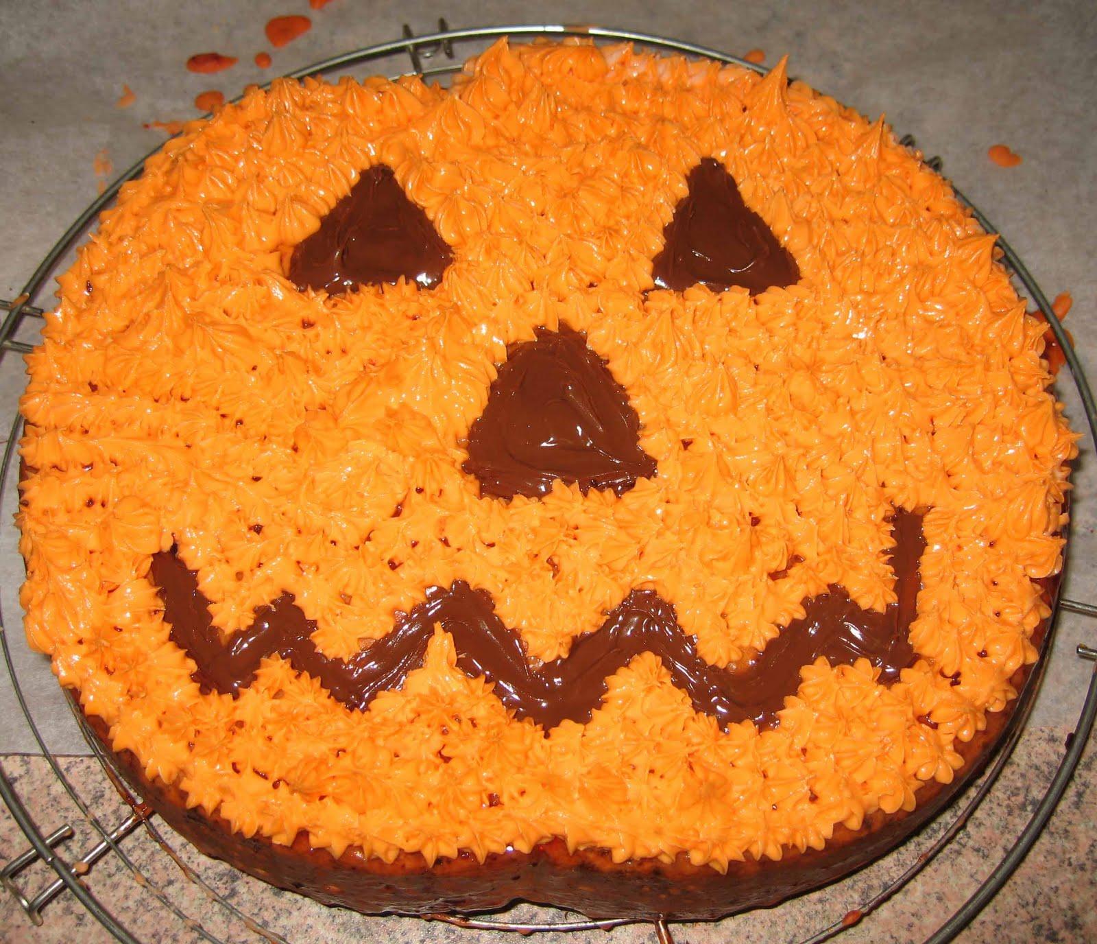 le torte stregate di emy torta a zucca di halloween con