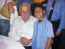 Elijah and Tommy Lasorda