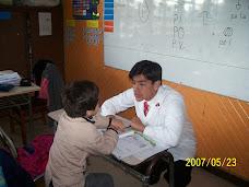El tío Rodrigo también hizo la práctica en nuestro curso