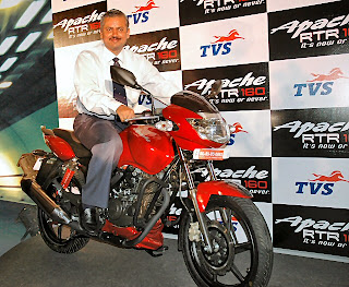 Apache RTR 160 Offical pic