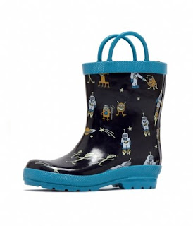 Groovy Kids Stuff: Hatley Alien Kids Rain Boots :  hatley alien kids rain boots alien rain kids