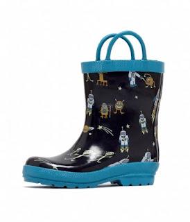 Groovy Kids Stuff: Hatley Alien Kids Rain Boots :  hatley alien kids rain boots alien rain kids