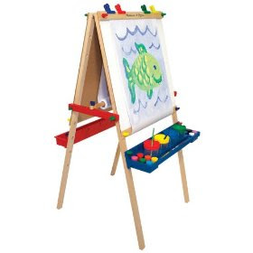 Funky Kids Stuff: Melissa and Doug Deluxe Standing Easel