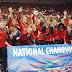 Georgia garante quinto título consecutivo no NCAA