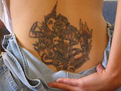 Henna Tattoo Designs For Back