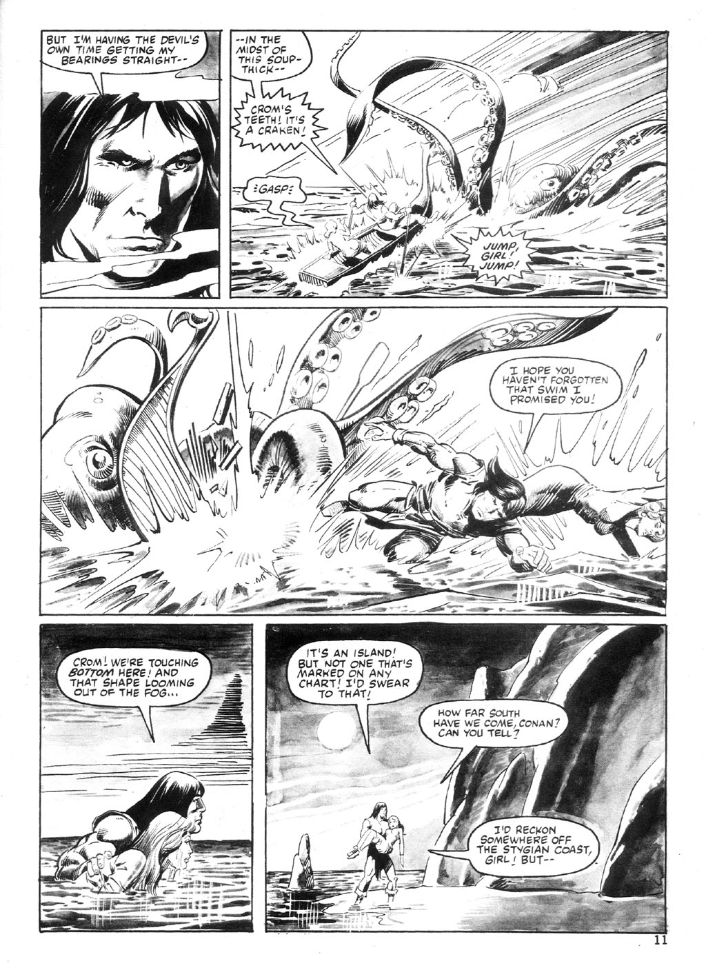 The Savage Sword Of Conan Issue #94 #95 - English 10