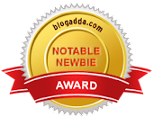 Notable Newbie Blogadda Badge