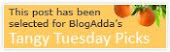 Thanks Blogadda