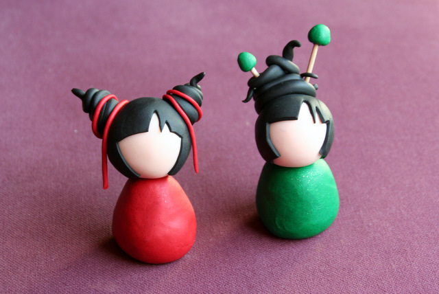 Tutoriel Comment Faire Une Kokeshi En Fimo Le Blog De Miss Kawaii