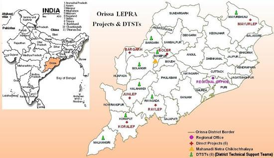 Odisha Map