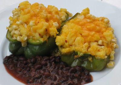 Mexican Polenta-Stuffed Peppers | It's Melissa's Kitchen