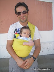 Miguel com o papai