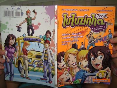 Revista Luluzinha Teen segunda temporada