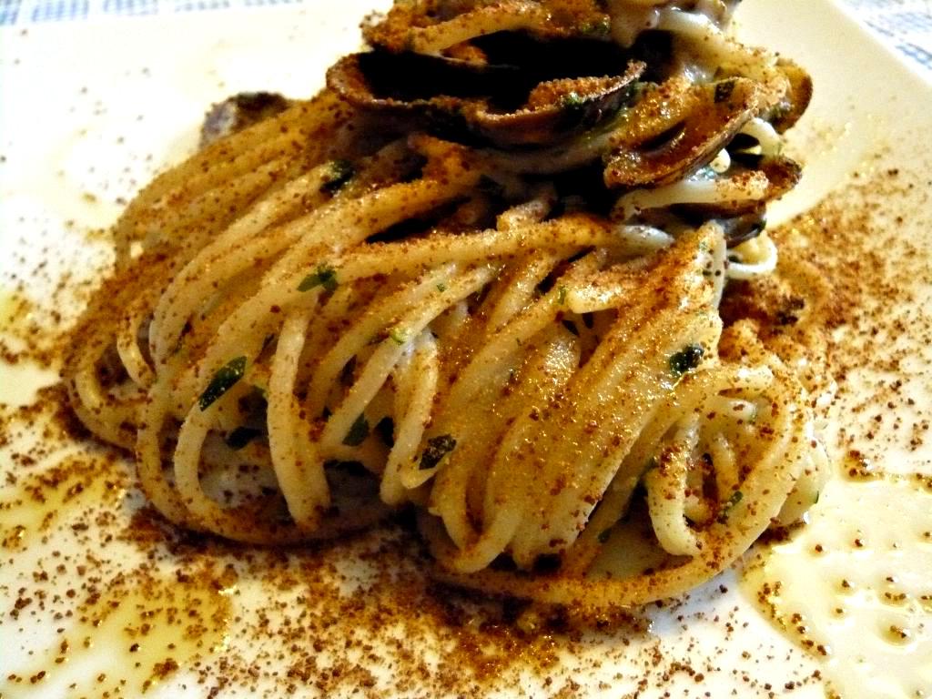 Spaghetti alla bottarga | pasta | Pinterest