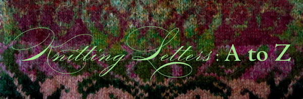 Knitting Letters : A to Z