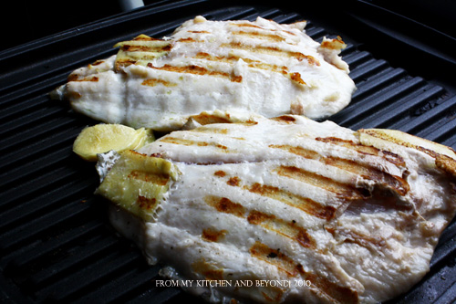 From my kitchen and beyond grilled pompano fish for Pompano fish recipes