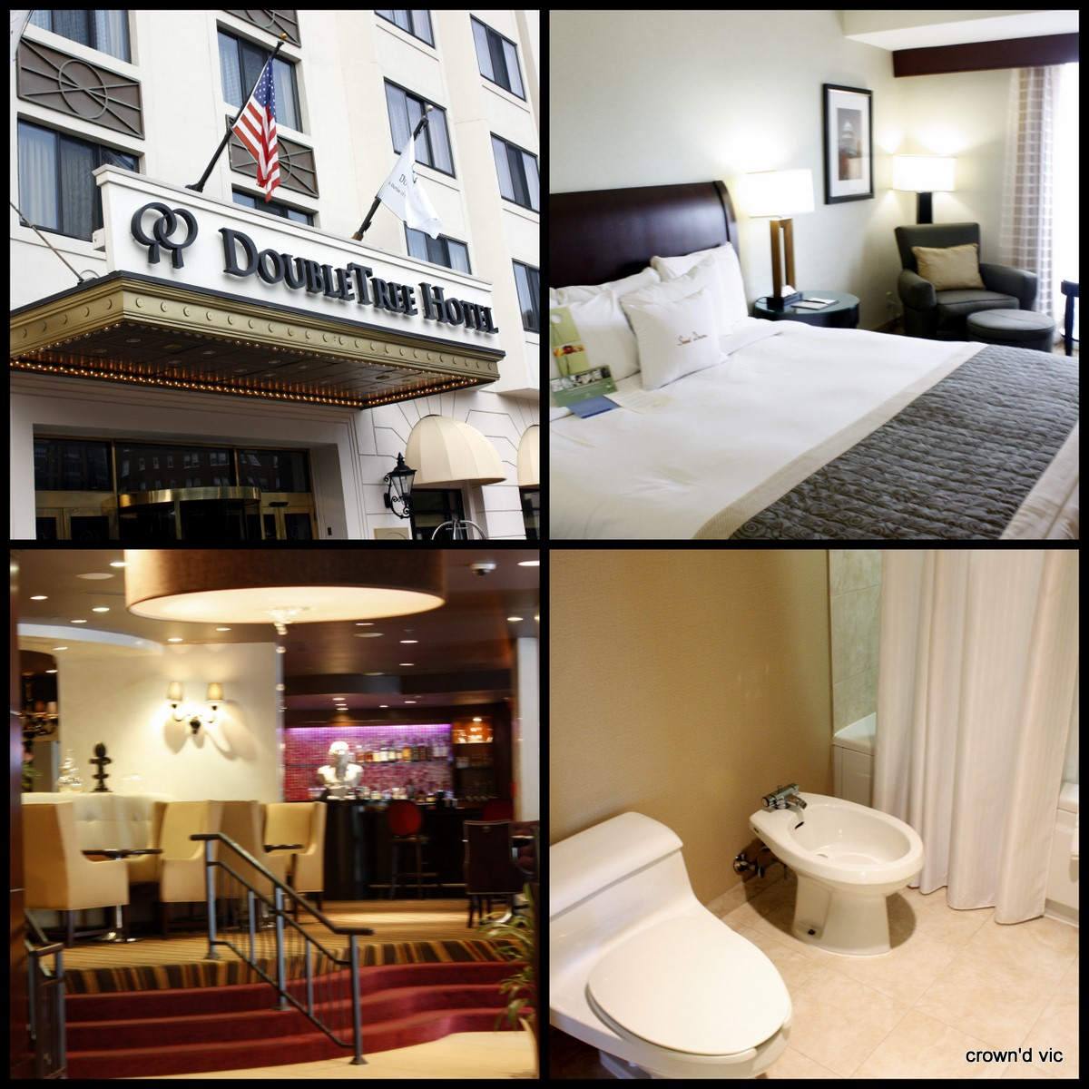 Doubletree Room Service Menu