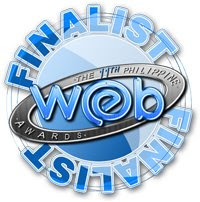 philippine web awards finalist