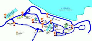 La Mesa Eco Park Map