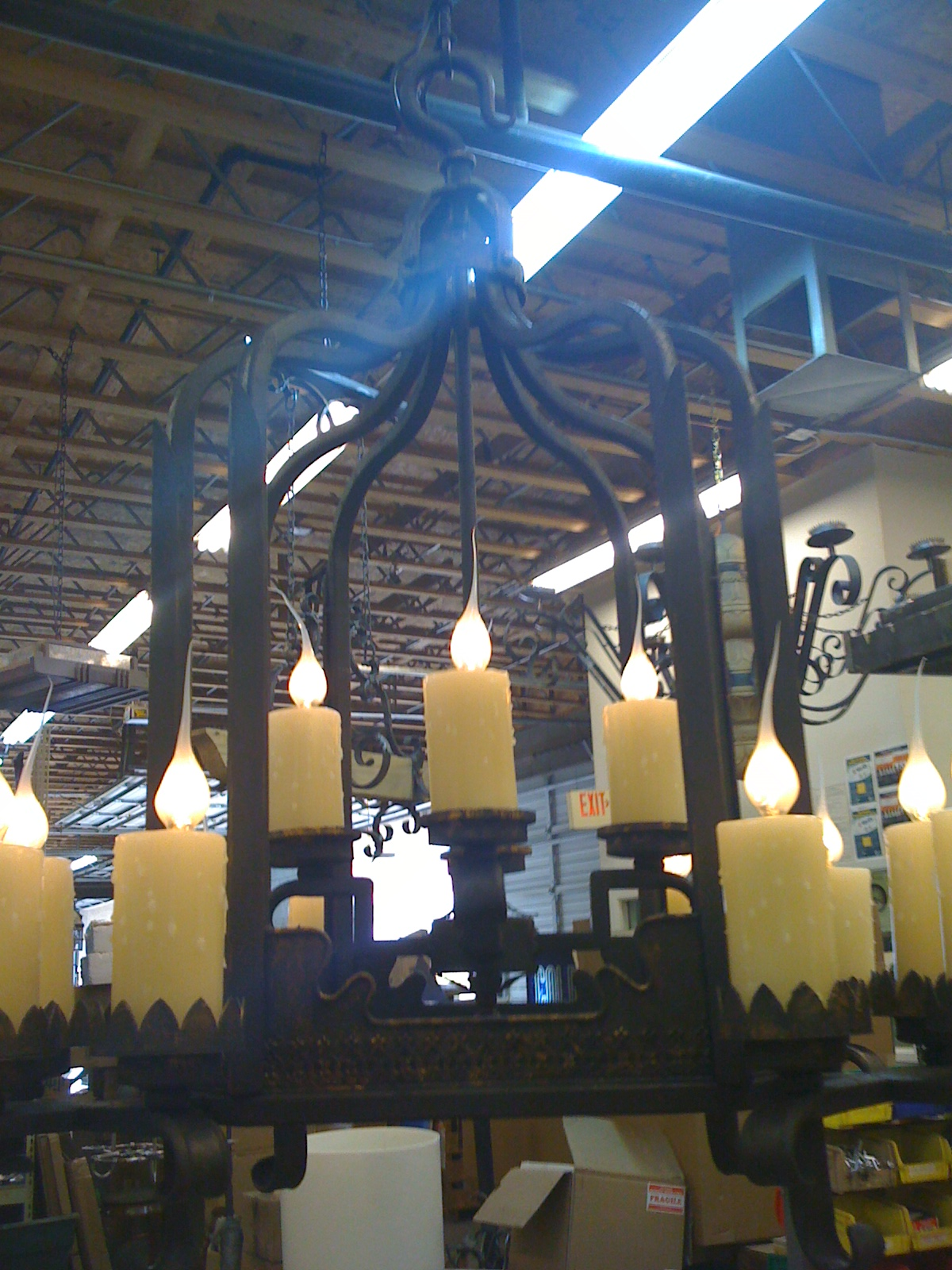 Design Girl AZ Custom Lighting Workroom Visit