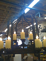 Candles in Lights - office remodel scottsdale