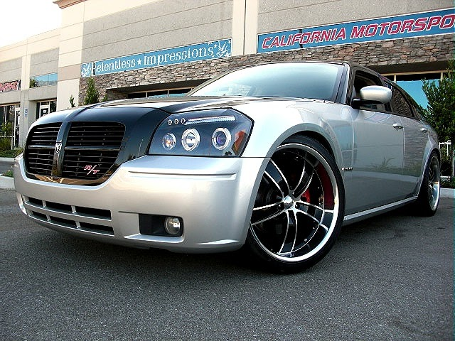 Custom Black Silver Dodge Hemi Magnum Rt Glorious Car Custom Black Silver Dodge Hemi Magnum Rt